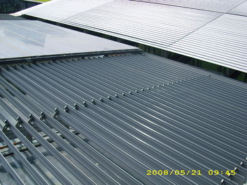 Aerofoil Aluminum Retractable Louvered Roof Systems Building Facade Light Control